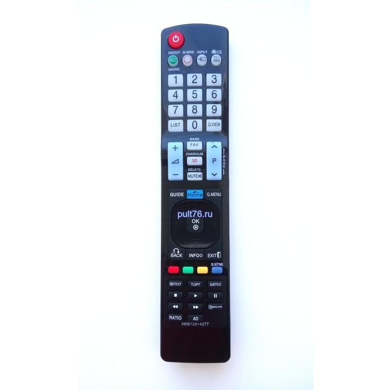 Пульт для телевизора LG AKB72914277