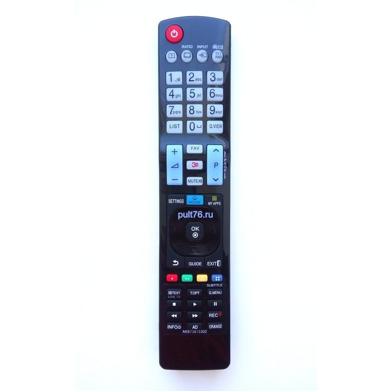 Пульт для телевизора LG AKB73615302