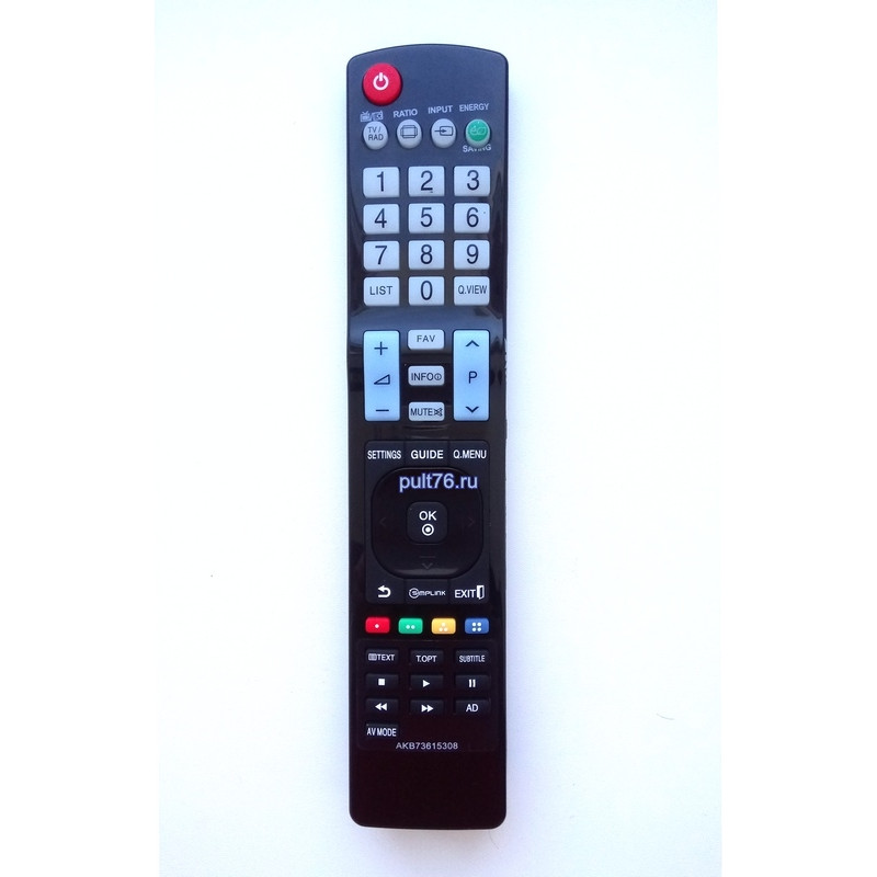 Пульт для телевизора LG AKB73615308