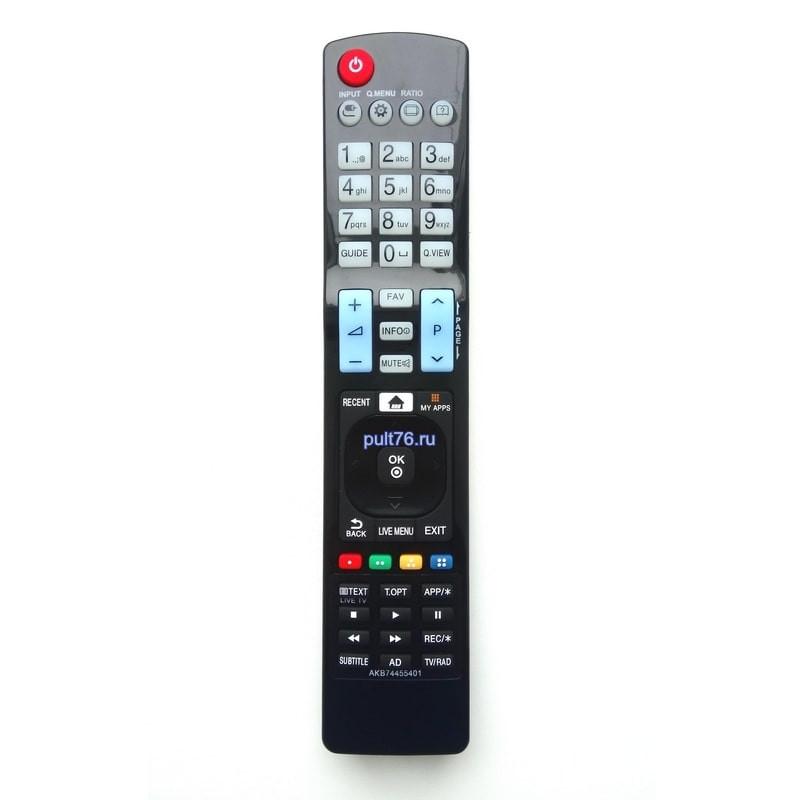Пульт для телевизора LG AKB74455401