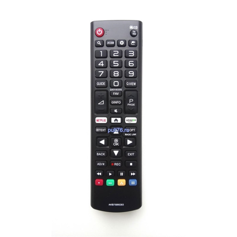 Пульт для телевизора LG AKB75095303