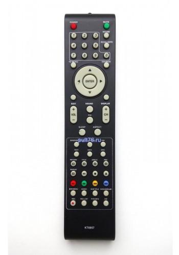 Пульт для телевизора Mystery (Мистери, Мустеру) KT6957 MTV-3206W TV+DVD MTV-1906W
