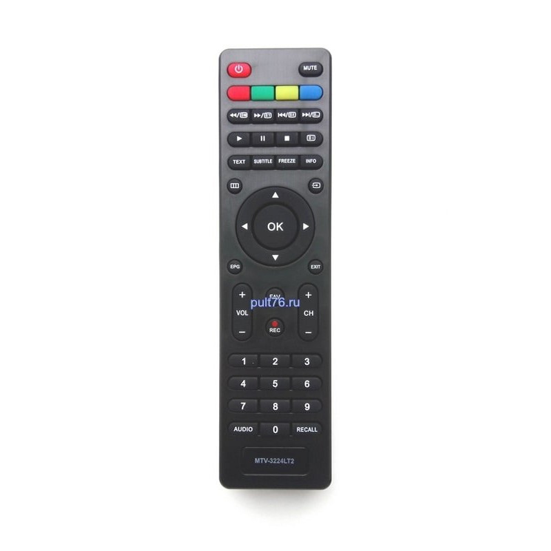 Пульт для телевизора Yasin (Ясин, Айсин) MTV-3224LT2
