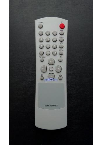 Пульт для телевизора Рубин (Rubin) WH-43D102
