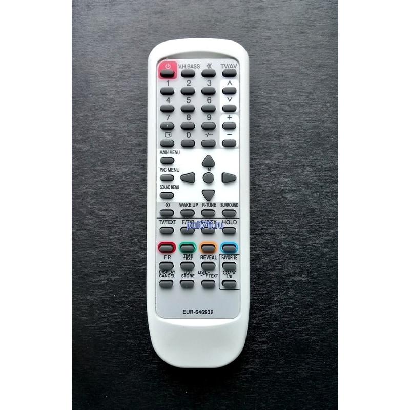 Пульт для телевизора Panasonic (Панасоник) EUR646932
