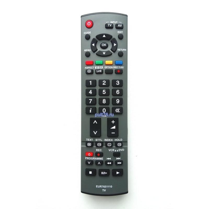 Пульт для телевизора Panasonic (Панасоник) EUR7651110