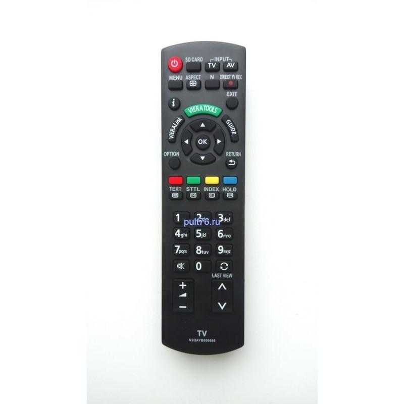 Пульт для телевизора Panasonic (Панасоник) N2QAYB000666