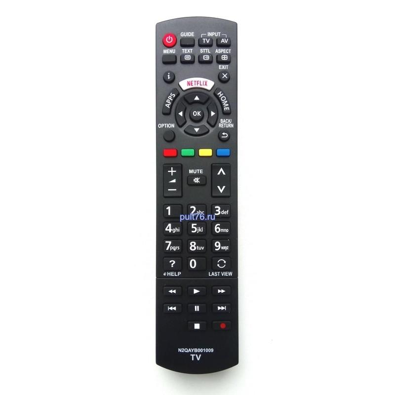 Пульт для телевизора Panasonic (Панасоник) N2QAYB001009