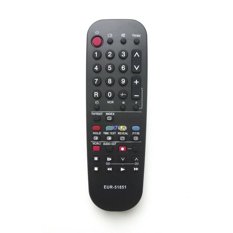 Пульт для телевизора Panasonic (Панасоник) TNQ8E0461 / EUR51851