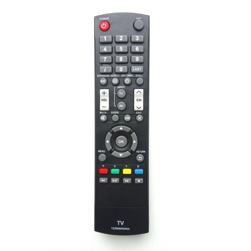Пульт для телевизора Panasonic (Панасоник) TZZ00000006A