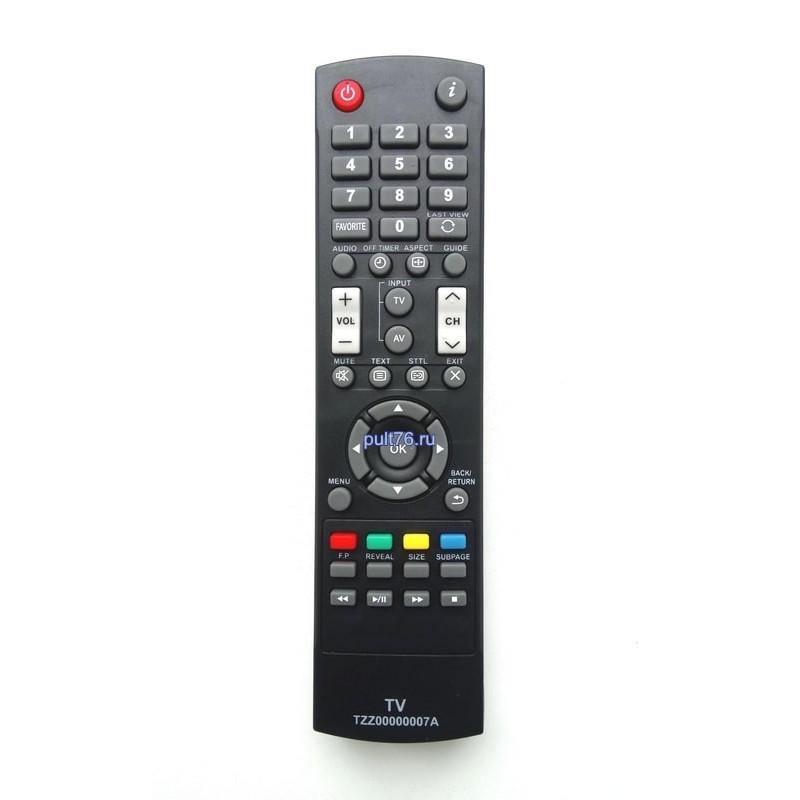 Пульт для телевизора Panasonic (Панасоник) TZZ00000007A