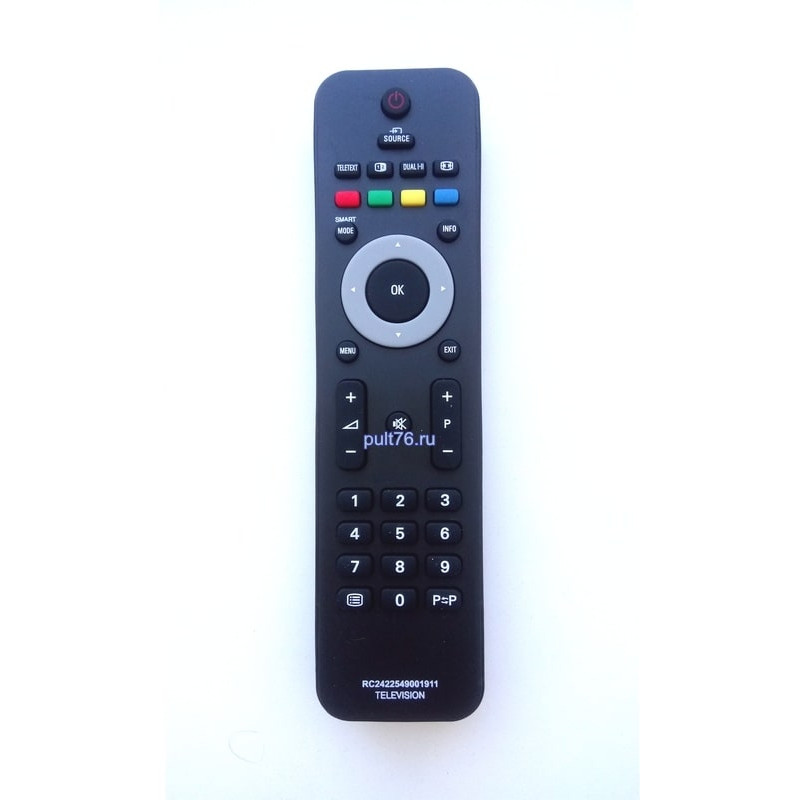 Пульт для телевизора Philips (Филипс) 2422 549 01911 (20PFL3403)