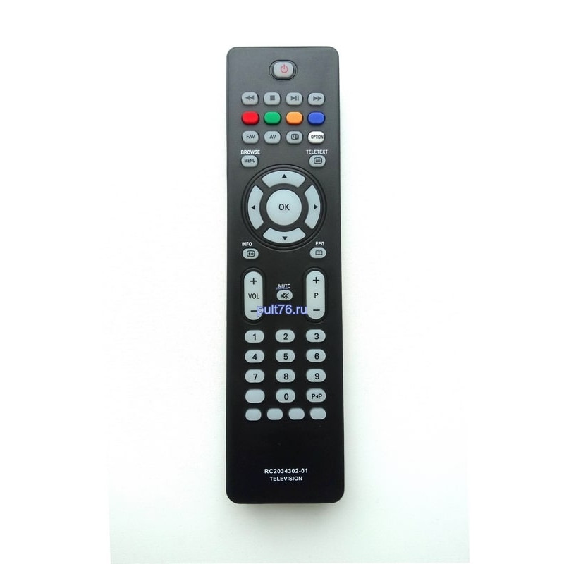 Пульт для телевизора Philips (Филипс) RC-2034302/01