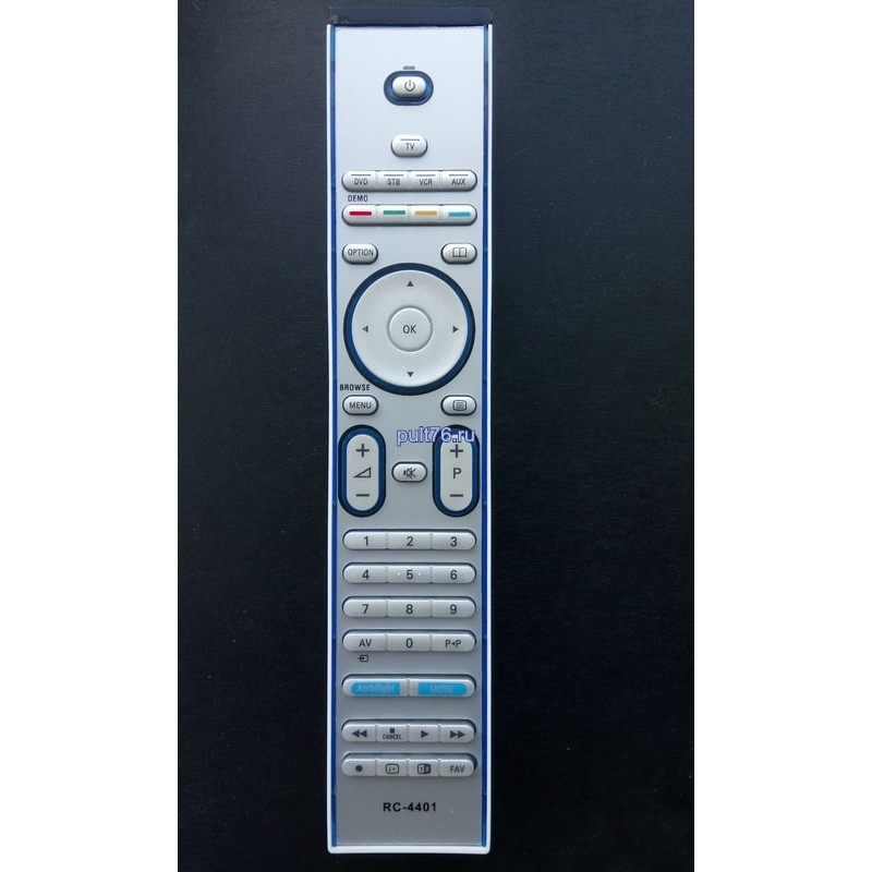 Пульт для телевизора Philips (Филипс) RC4401 (RC5401E) ic 42PF9641D/10