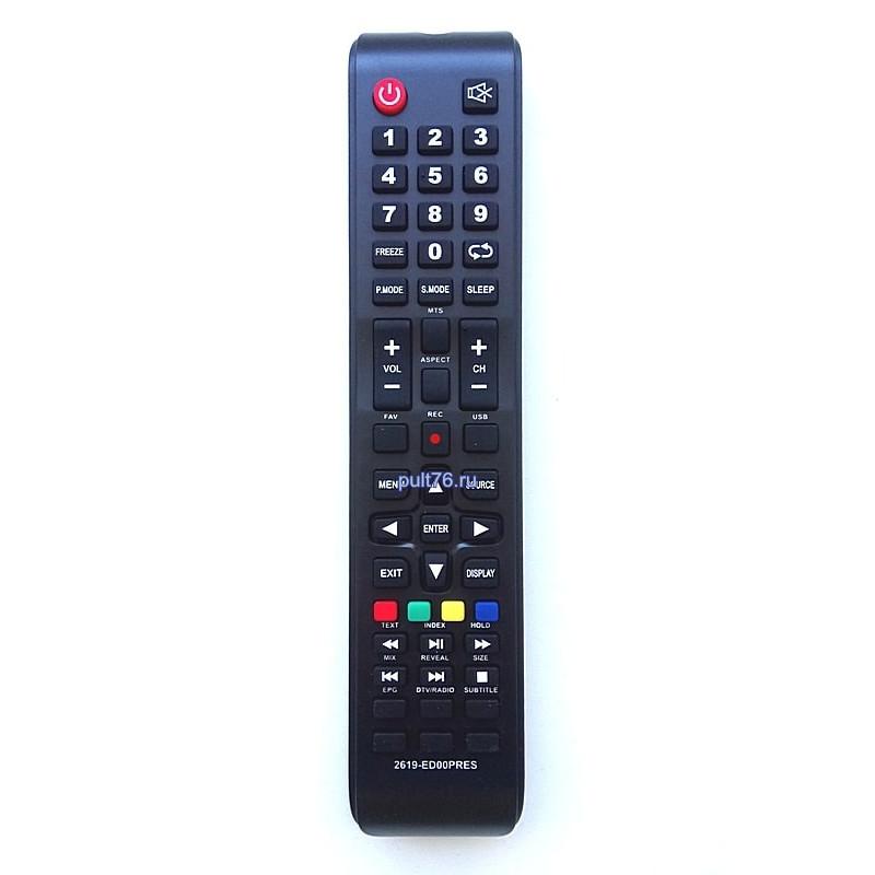 Пульт для телевизора Prestigio (Престигио, Престижио) 2619-ED00POLA (2619-ED00PRES)