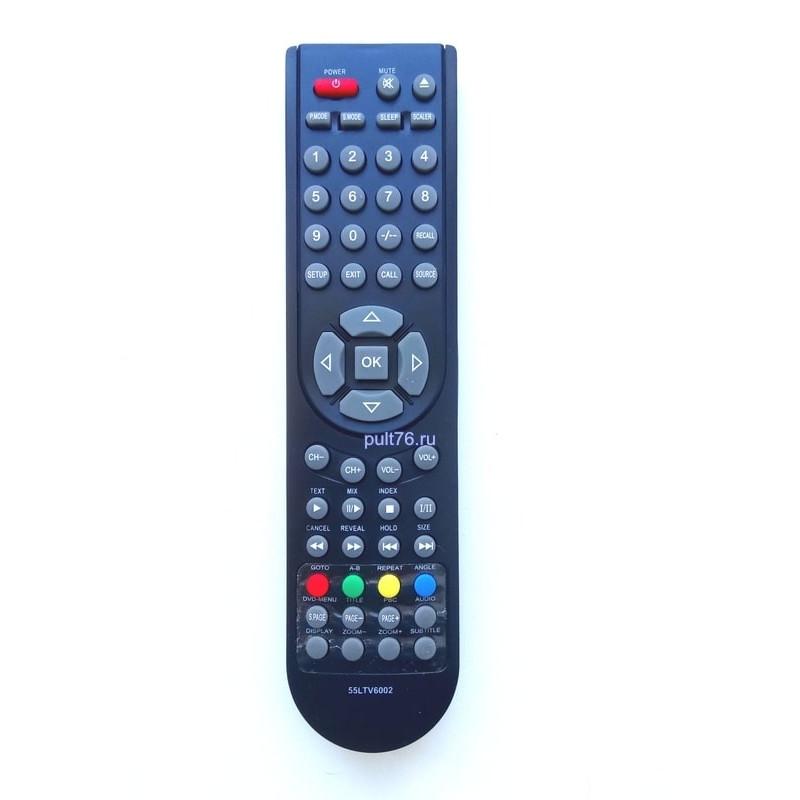 Пульт для телевизора Hisense (Хисенсе, Хайсенсе, Нисенсе) 55LTV6002