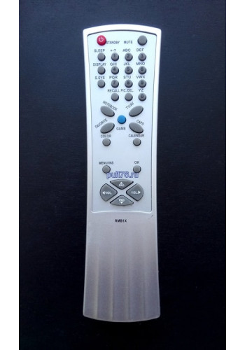 Пульт для телевизора Hyundai (Хундай, Хюндай, Хендай) RMB1X