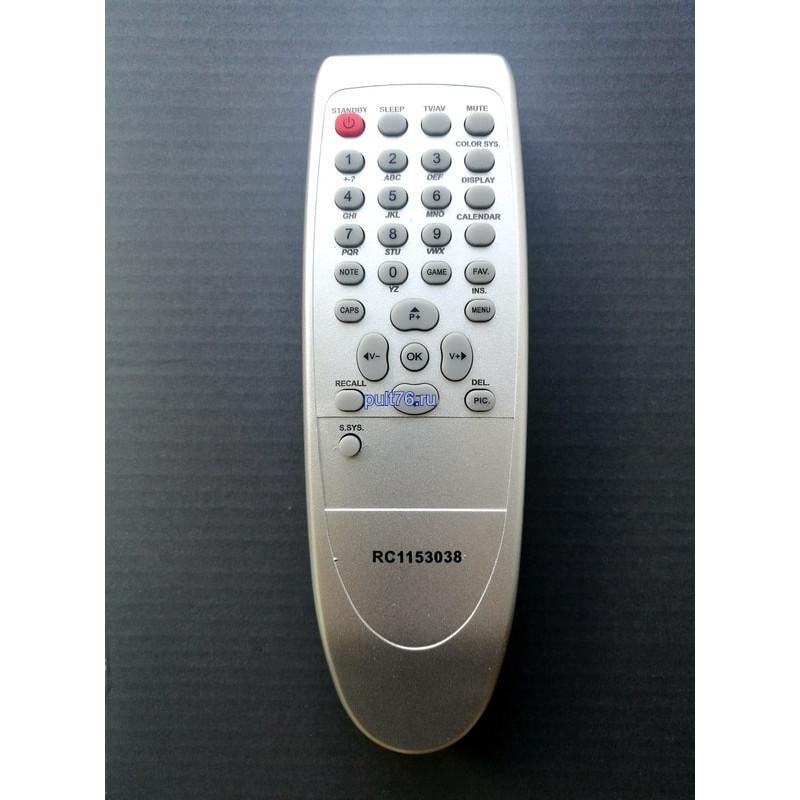 Пульт для телевизора Rolsen RC-1153038 (RC1153012)