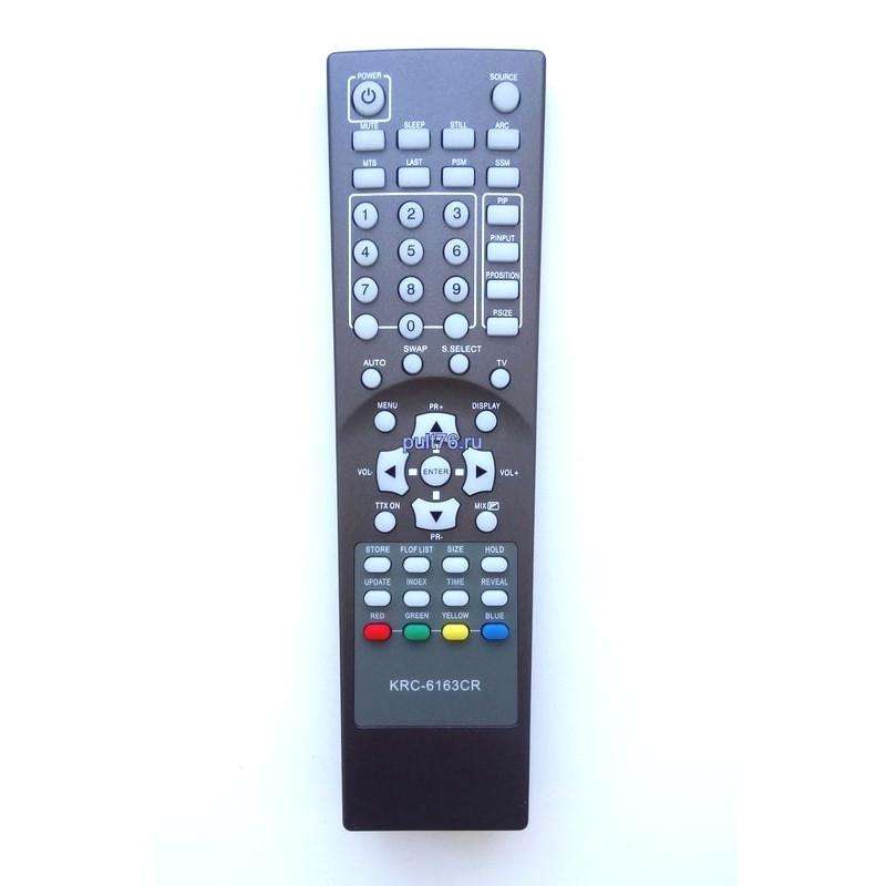 Пульт для телевизора Lava Vision (Лава Висион, Лава Визион) KRC-6163CR