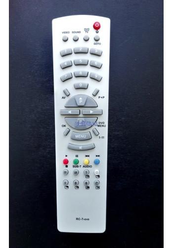 Пульт для телевизора Rolsen (Ролсен) RC-7+DVD