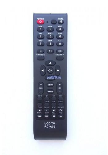 Пульт для телевизора Erisson (Эрисон, Эриссон, Ерисон, Ериссон) RC-A06 (RL-32B05F,RB-32K101U)