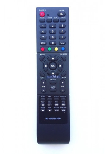 Пульт для телевизора Рубин (Rubin) RL-19E1301GU (2031C) RB-19SE5