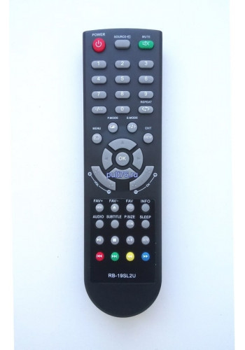 Пульт для телевизора Рубин (Rubin) RB-19SL2U