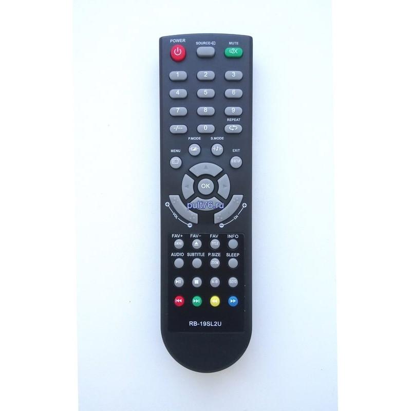 Пульт для телевизора Irbis (Ирбис) RB-19SL2U M29Q77HAL