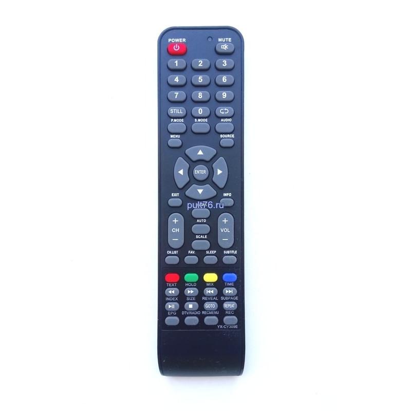 Пульт для телевизора Rolsen (Ролсен) YX-CY309E (RB-19SE5T2C)