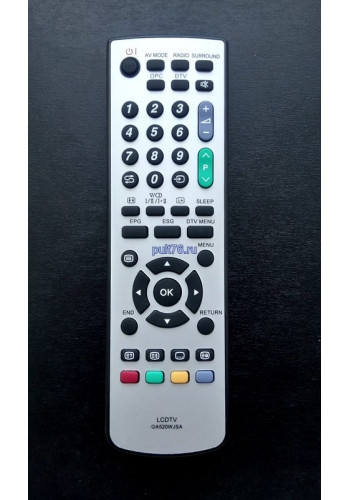 Пульт для телевизора Sharp (Шарп) GA520WJSA