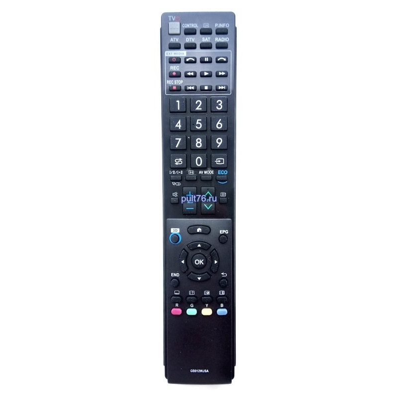 Пульт для телевизора Sharp (Шарп) GB012WJSA (GA983WJSA)