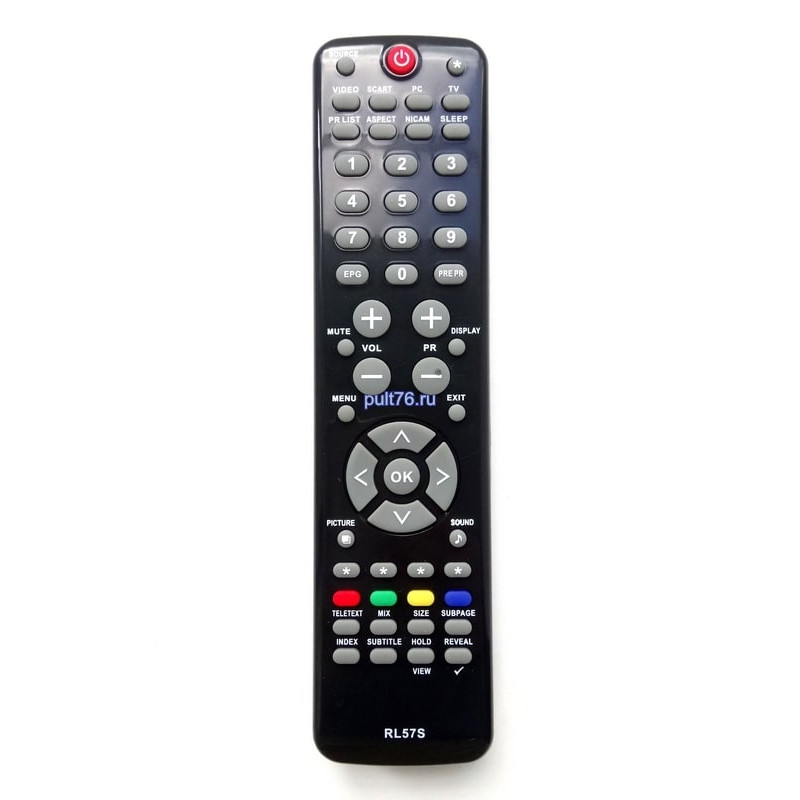 Пульт для телевизора Hitachi RL57S