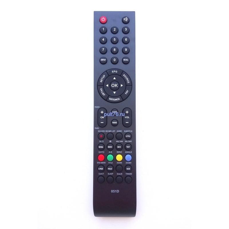 Пульт для телевизора Telefunken (Телефункен) 051D