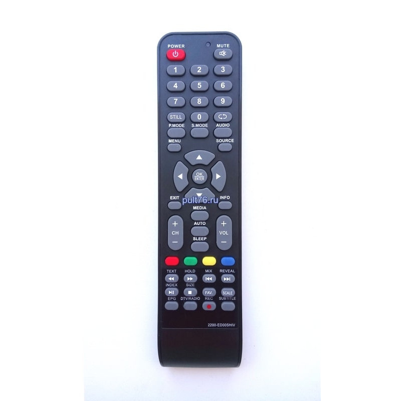 Пульт для телевизора Akai (Акай) 2200-ED00SH,2200-ED00SHIV