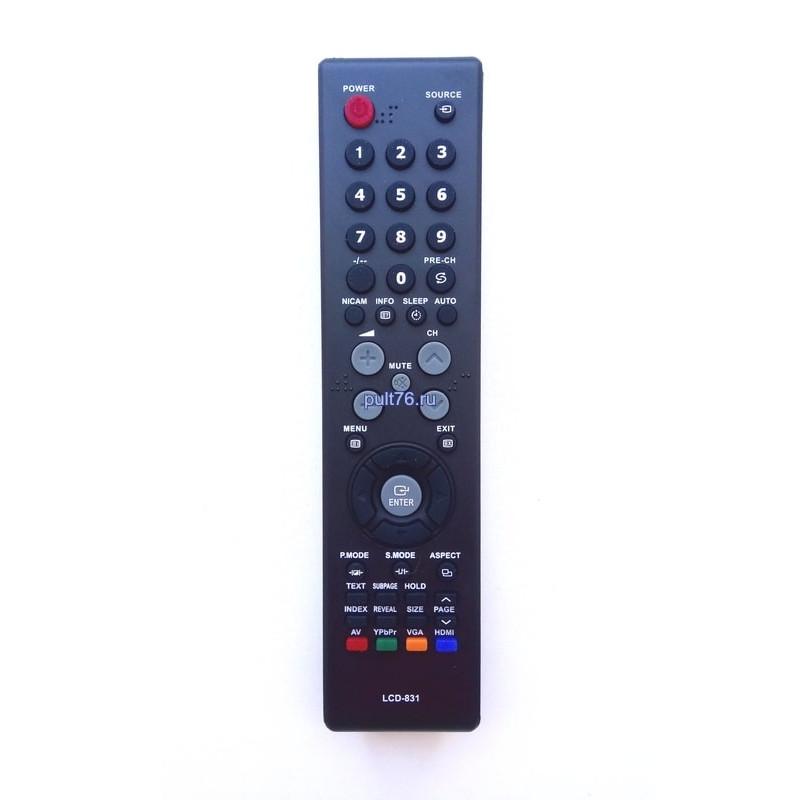 Пульт для телевизора Shivaki (Шиваки) LCD-831