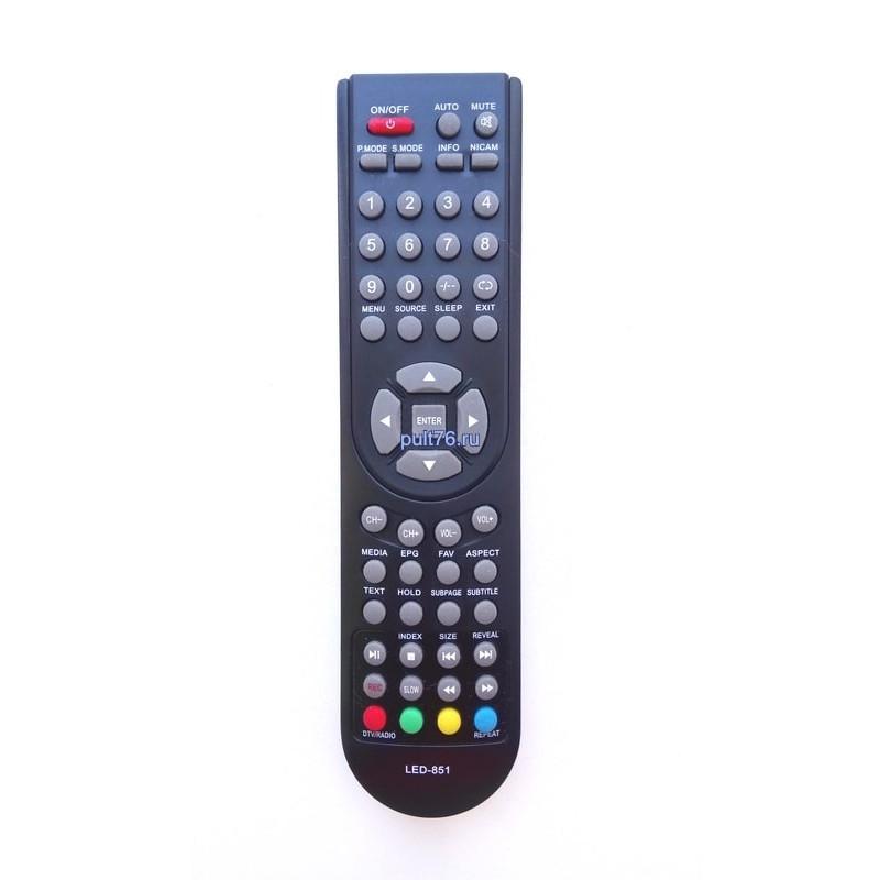 Пульт для телевизора Shivaki LED-851