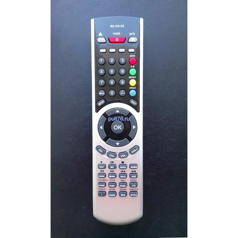 Пульт для телевизора Technika (Техника) RC-D3-03 (D3-02)