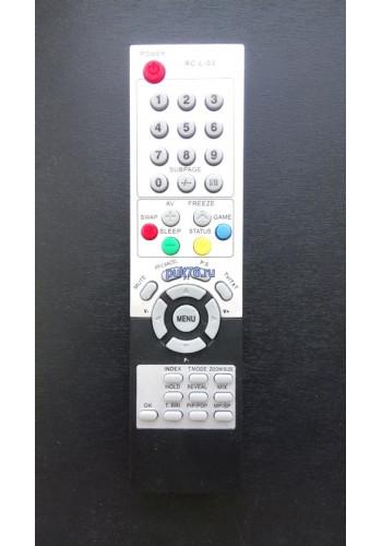 Пульт для телевизора Sitronics (Ситроникс)  RC-L-03 LCD