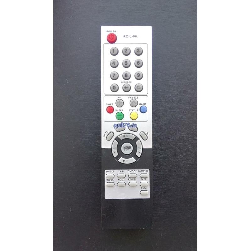 Пульт для телевизора Sitronics (Ситроникс)  RC-L-06 LCD