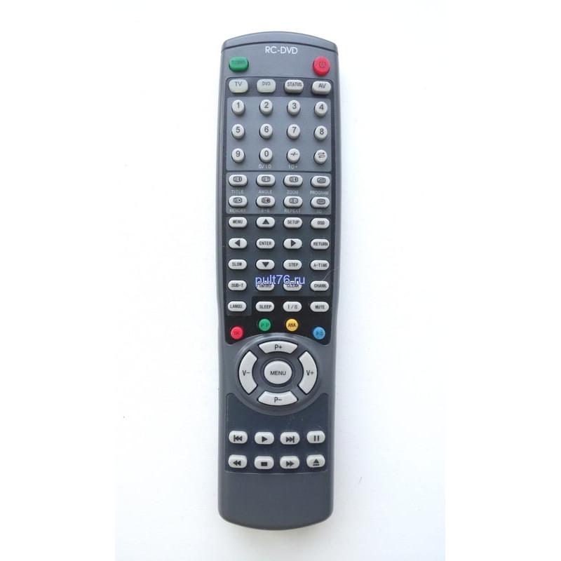 Пульт для телевизора Горизонт (Horizont) RC-DVD