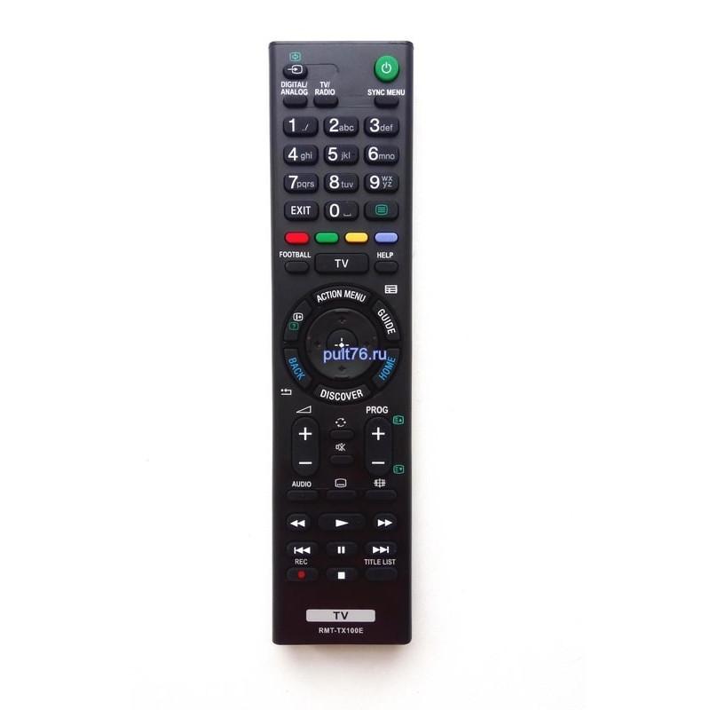 Пульт для телевизора Sony RMT-TX100E