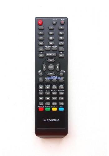 Пульт для телевизора Erisson (Эрисон, Эриссон, Ерисон, Ериссон) H-LCDVD3200S
