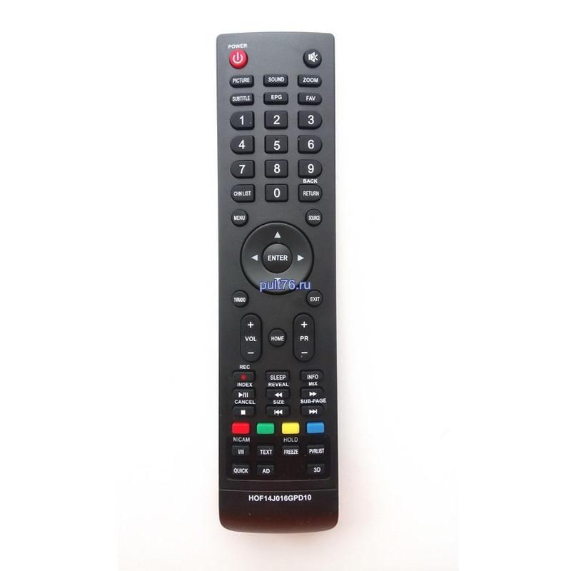 Пульт для телевизора Harper (Харпер) HOF14J016GPD10