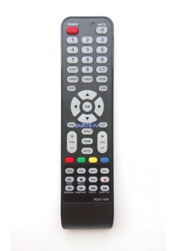 Пульт для телевизора Bravis (Бравис) RC02-T338