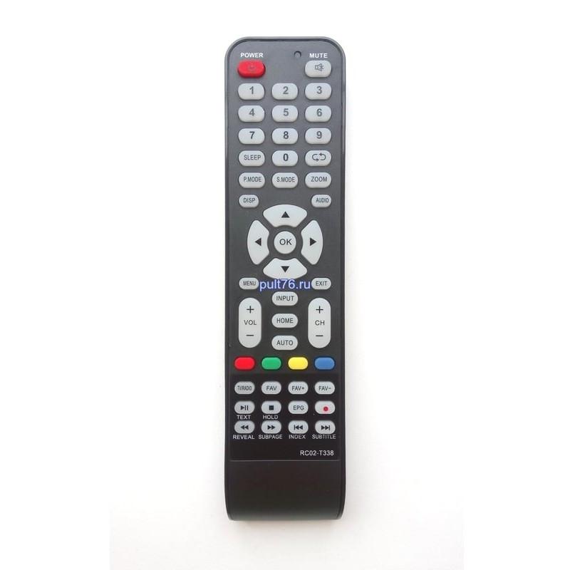 Пульт для телевизора DEXP (Дексп, Дехп) RC02-T338