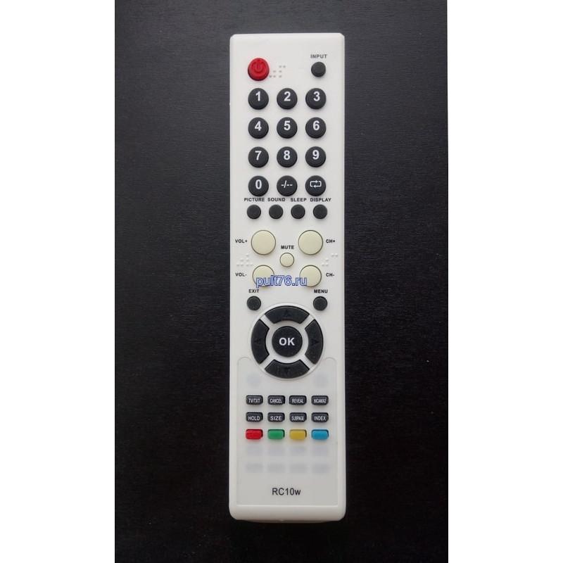 Пульт для телевизора Izumi (Изуми, Изюми) RC10w