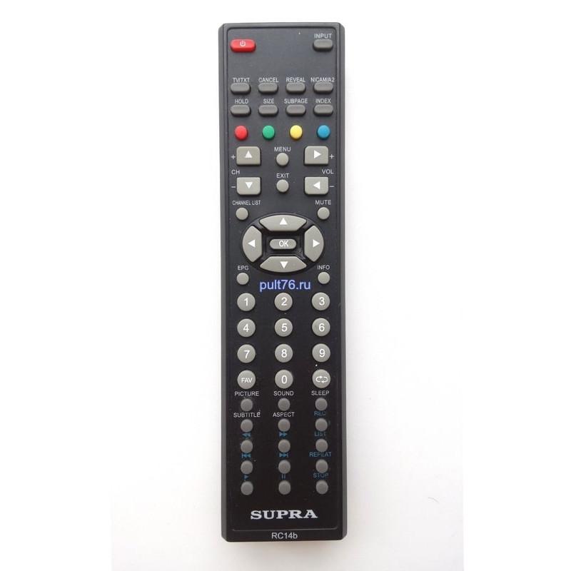 Пульт для телевизора Supra (Супра) RC13B (RC2b. R14b)