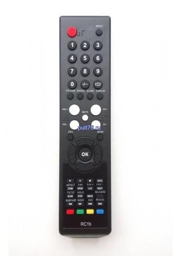 Пульт для телевизора Hyundai (Хундай, Хюндай, Хендай) RC1b