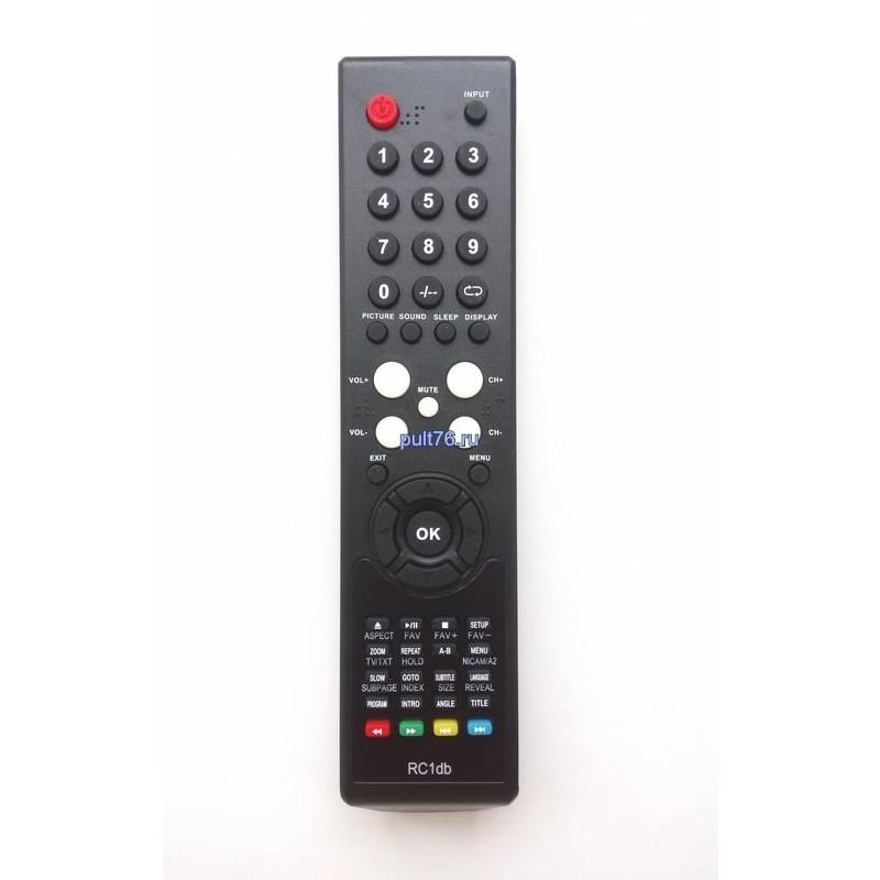 Пульт для телевизора Supra (Супра) RC1db