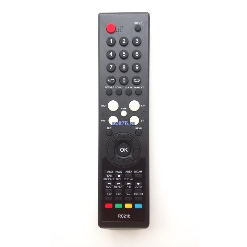 Пульт для телевизора Supra (Супра) RC21b (RC20b,RC6b)